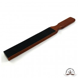Строп для правки опасной бритвы Thiers Issard Special Extra Large Double Sided Leather Paddle Strop
