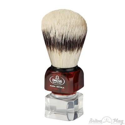 Помазок для бритья Omega 81025 на подставке
