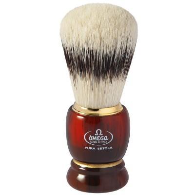 Помазок для бритья Omega 81151 с подставкой