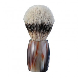 Помазок для бритья 918115 DOVO SHAVING BRUSH BUFFALO HORN