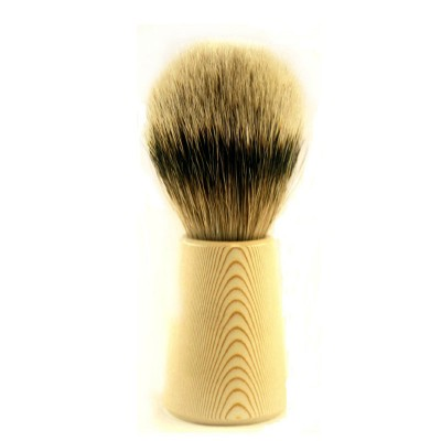 Помазок для бритья 9181056 DOVO SHAVING BRUSH PURE SILVERTIP BADGER