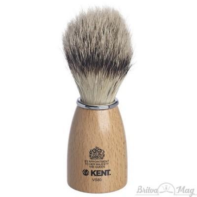 Помазок для бритья Kent VS80
