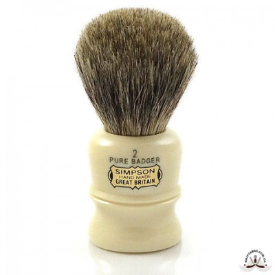 Помазок для бритья Simpson Duke D2 Pure Badger
