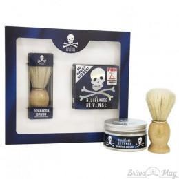 Набір для гоління The Bluebeards Revenge Shaving Cream & Doubloon Brush Kit
