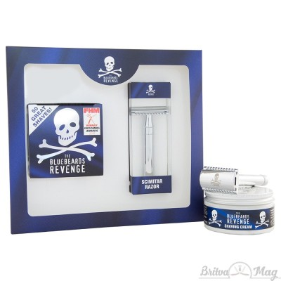 Набор для бритья The Bluebeards Revenge Shaving Cream and Scimitar Razor Kit