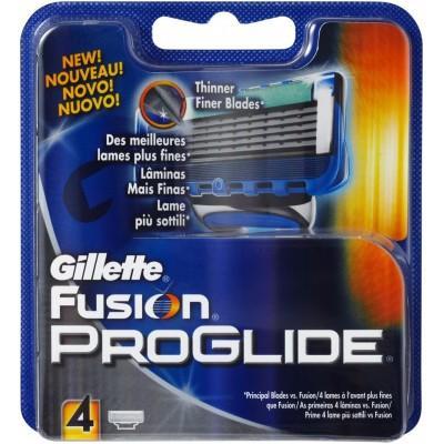 Картриджи Gillette Fusion ProGlide , 4 штуки в упаковке