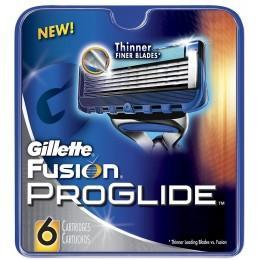 Картриджи Gillette Fusion ProGlide , 6 штук в упаковке