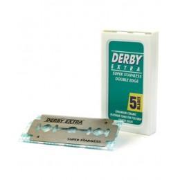 Лезвия для безопасной бритвы Derby Extra (5 лезвий)