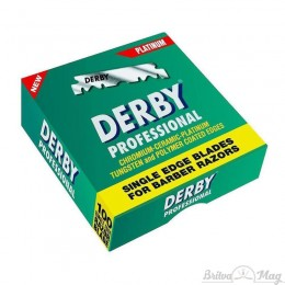 Лезвия Derby Professional Single Edge Razor Blades