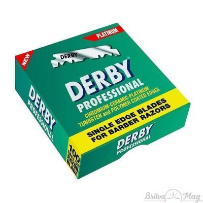 Лезвия Derby Professional Single Edge Razor Blades