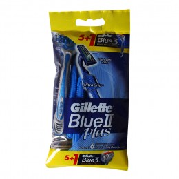 Станок одноразовый Gillette Blue 2 Plus , 6 штук