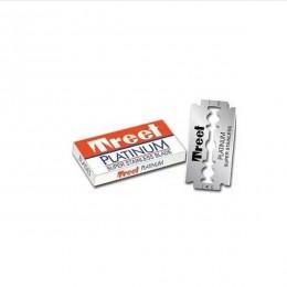 Лезвия для безопасной бритвы Treet Platinum Super Stainless Steel (5 лезвий)