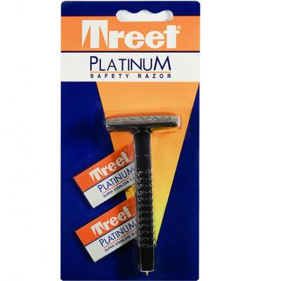 Станок для бритья Т-образный Treet Platinum Safety Razor