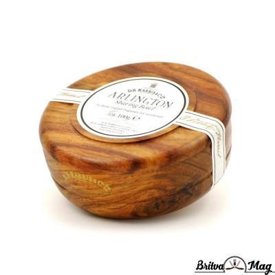 Твердое мыло для бритья в чаше из красного дерева D.R. Harris, ARLINGTON
