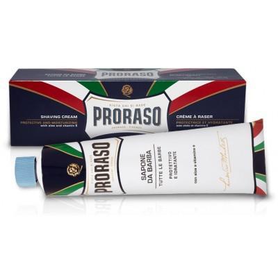 Крем для бритья с алоэ, витамином Е и экстрактом лакрицы PRORASO