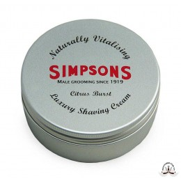 Крем для бритья Simpson Luxury Citrus Burst Shaving Cream