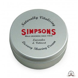 Крем для бритья Simpson Luxury Lavender & Vetivert Shaving Cream