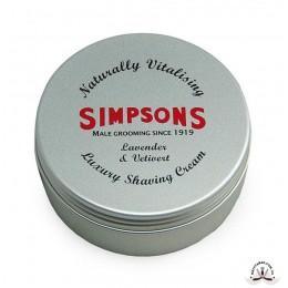 Крем для бритья Simpson Luxury Lavender & Vetivert Shaving Cream