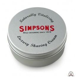 Крем для бритья Simpson Luxury Shaving Cream