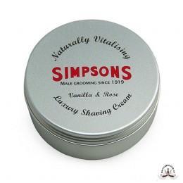 Крем для бритья Simpson Luxury Vanilla & Rose Shaving Cream