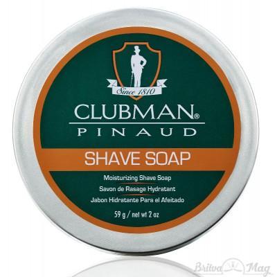 Мыло для бритья Clubman Pinaud Shave Soap
