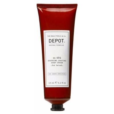 Успокаивающий крем для бритья Depot 404 Soothing Shaving Soap Cream For Brush
