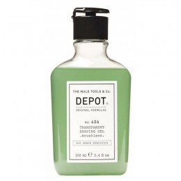 Гель для бритья Depot 406 Transparent Shaving Gel