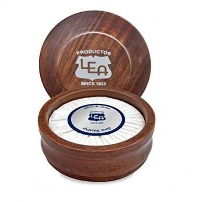 Мыло для бритья в чаше из дерева LEA Classic Shaving Soap 100 грамм