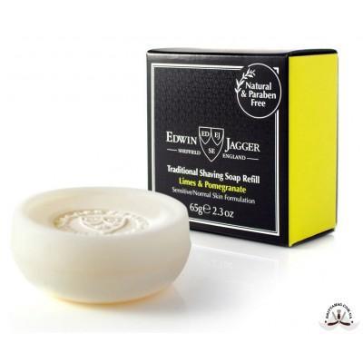 Мыло для бритья Edwin Jagger Limes & Pomegranate