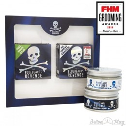 Подарунковий набір для чоловіків The Bluebeards Revenge Shaving Cream & Post-Shave Balm Kit