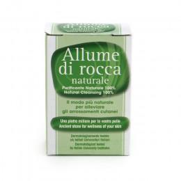 Камень от порезов (алунит) Allume Di Rocca Naturale, 100 г