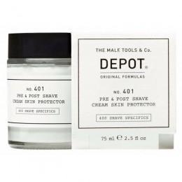 Захисний крем до і після гоління Depot 401 Pre & Post Shave Cream Skin Protector