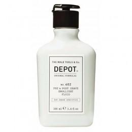 Смягчающая жидкость до и после бритья Depot 402 Pre & Post Shave Emollient Fluid
