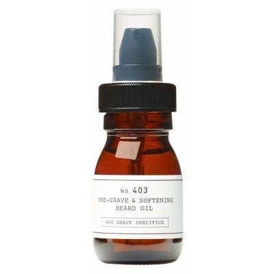 Масло до бритья и для смягчения бороды Depot 403 Pre-Shave & Softening Beard Oil