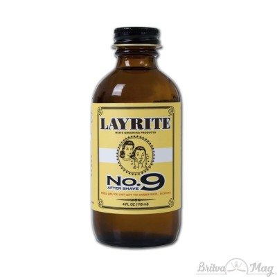 Лосьон после бритья Layrite No. 9 Bay Rum Aftershave