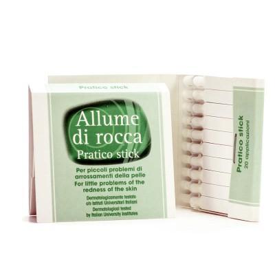 Спички кровоостанавливающие (алунит) Allume di Rocca Pratico Stick, 20 шт