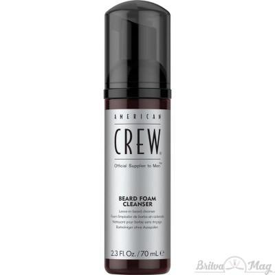Очищающая пена для бороды American Crew Beard Foam Cleanser