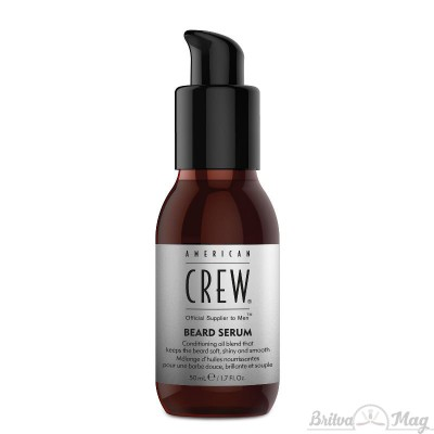 Сыворотка для бороды American Crew Official Supplier to Men Beard Serum
