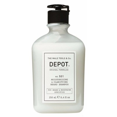 Увлажняющий шампунь для бороды Depot 501 Moisturizing & Clarifying Beard Shampoo