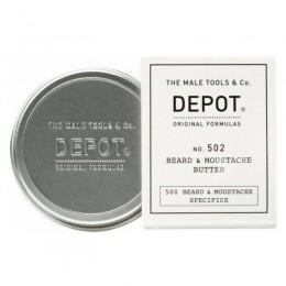 Масло для бороды и усов Depot 502 Beard & Mustache Butter
