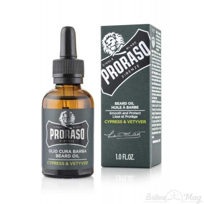 Масло для бороды Proraso Beard Oil Cypress and Vetyver