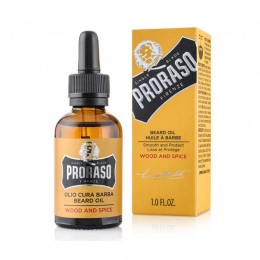 Масло для бороды Proraso Beard Oil Wood & Spice