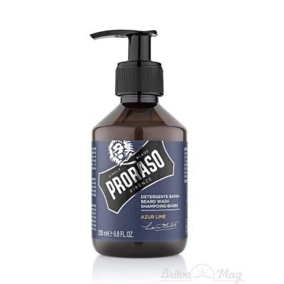Шампунь для бороды Proraso Beard Shampoo Azur Lime