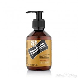 Шампунь для бороды Proraso Beard Shampoo Wood & Spice