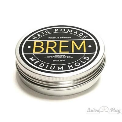 Бриолин для укладки волос Brem Medium Hold