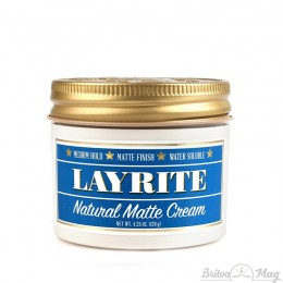 Помада для укладки волос Layrite Natural Matte Cream
