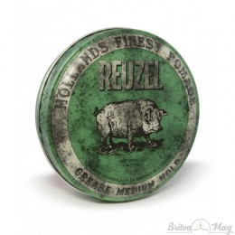 Помада для волос Reuzel Green Medium Hold Grease