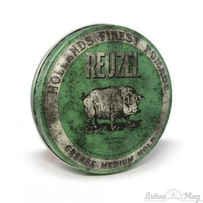 Помада для волос Reuzel Green Medium Hold Grease