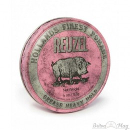 Помада для волос Reuzel Pink Heavy Hold Grease