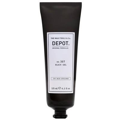 Черный гель для укладки волос Depot 307 Black Gel